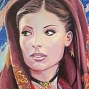 Sardinian Lady Poster by Andrei Attila Mezei