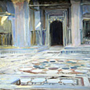 Sargent's Pavement In Cairo Poster