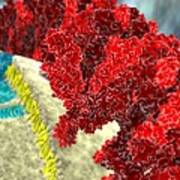 Sars Coronavirus Proteins, Artwork Poster