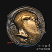 Satyr Or Silenos Poster by Patricia Howitt