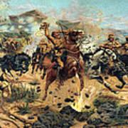 Saving The Guns At Colenso, 1899 Poster