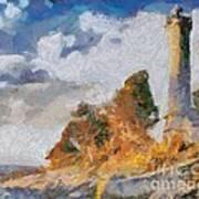 Savudrija Lighthouse Poster