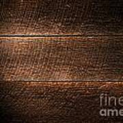 Saw Marks On Wood Poster