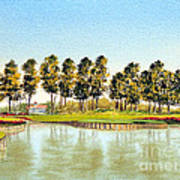 Sawgrass Tpc Golf Course 17th Hole Poster