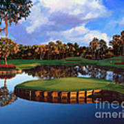 Sawgrass 17th Hole Poster