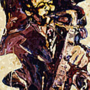 Sax Man One Poster