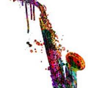 Saxophone 2 Poster