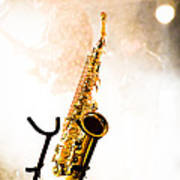 Saxophone  Poster by Bob Orsillo