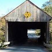 Sayres Covered Bridge Poster