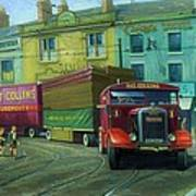 Scammell Showtrac Poster