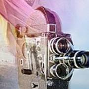 Scarf Camera Poster