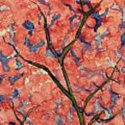 Scarlet Flowers Poster