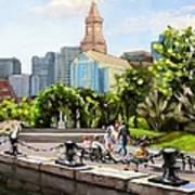 Scenic Boston Poster