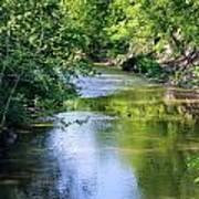 Scenic Sandusky River Poster