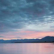 Scenic View Of Lake At Dusk, Lake Poster