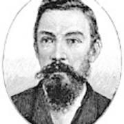 Schalk Willem Burger (1852-1918) Poster