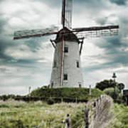 Schellemolen Windmill Poster