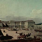 Schloss Schonbrunn, 1759-60 Oil On Canvas Poster