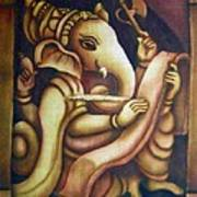 Scholar Ganesh Poster