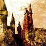 School Of Magic Poster by Anastasiya Malakhova