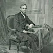 Schuyler Colfax  American Statesman Poster