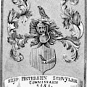 Schuyler Family Arms Poster