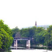 Schuylkill River At Manayunk Philadelphia Poster