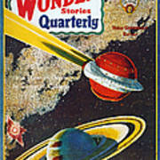 Science Fiction Cover, 1931 Poster