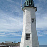 Scituate Light Three Poster