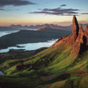 Scotland - Old Man Of Storr Poster