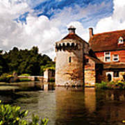Scotney Castle Poster
