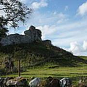 Scottish Castle Ruins Poster