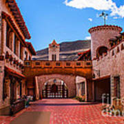 Scotty's Castle Courtyard Poster