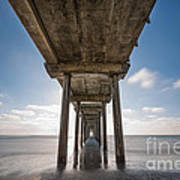 Scripps Pier Long Exposure Poster