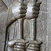 Sculpture From Persepolis In Iran Poster