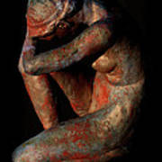 Sculpture Of Nude Woman Poster