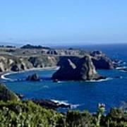 Sea Coast Of Northern California Poster