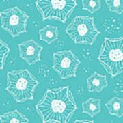 Sea Flower Poster