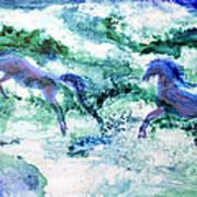 Sea Horses Poster