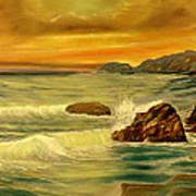 Sea Scape 1 Poster