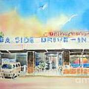 Sea Side Drive In Poster