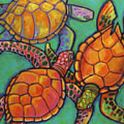 Sea Turtles Poster