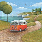 Sea Van Variant 1 Poster