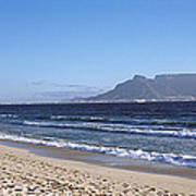 Sea With Table Mountain Poster