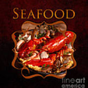 Seafood Gallery Poster