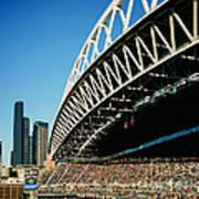 Seahawks Stadium 5 Poster
