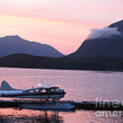Seaplane And Cloud Poster
