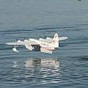 Seaplane Liftoff Poster