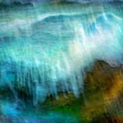 Seascape #20 - Touching Your Hand Poster
