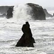 Seascape Bandon Oregon 1 Poster